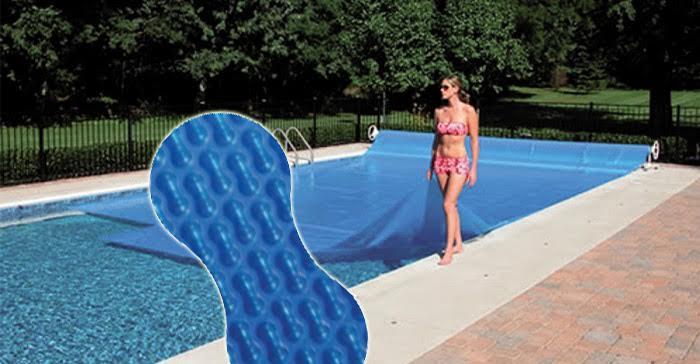 Manta t rmica de doble burbuja 5 x 10 metros tienda de piscinas shop - Mantas termicas para piscinas ...