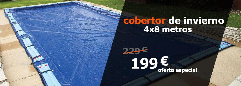 oferta cobertor invierno piscina